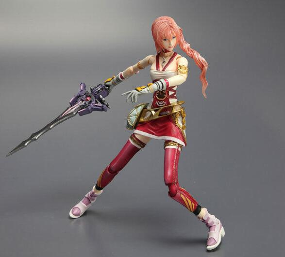 Final Fantasy FF 13 XIII 2 Serah Farron Figure garage kit-Garage Kit Dolls