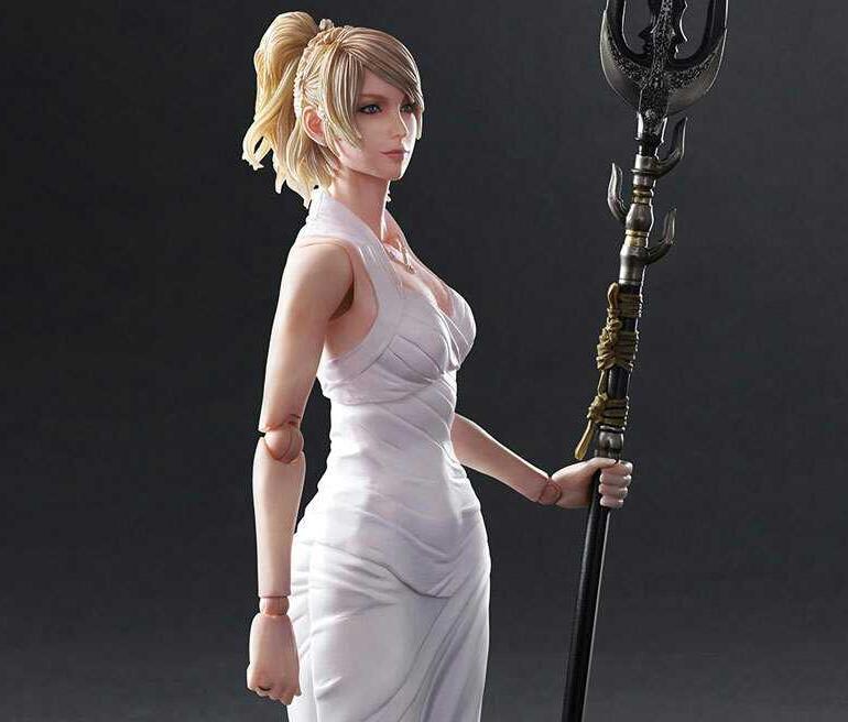 Final Fantasy XV Lunafrena Nox Fleuret BJD Action Figure Model&garage kit-Garage Kit Dolls